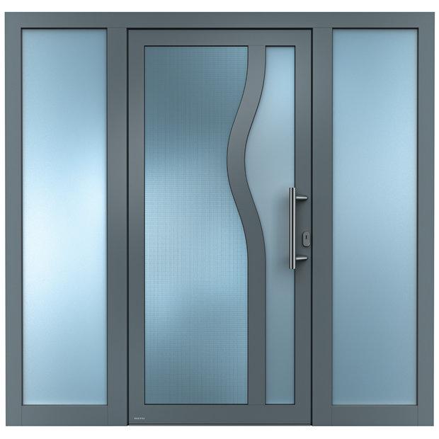 aluminium haust ren sedor haust r mit seitenteil aluminium haust ren einstiegsmodelle von weru. Black Bedroom Furniture Sets. Home Design Ideas