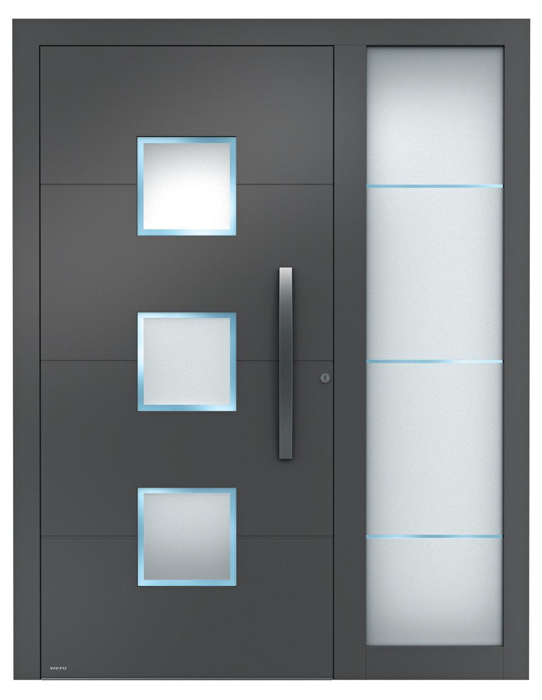 Haustüren modern mit seitenteil  Aluminium-Haustüren Sedor modern mit Seitenteil | Aluminium ...