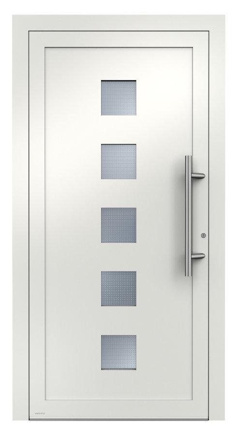 aluminium haust ren mit glasfalzf llung von weru aktions aluminium haust ren von weru. Black Bedroom Furniture Sets. Home Design Ideas