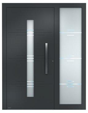 Haustür modern mit seitenteil  Aluminium-Haustüren Sedor modern mit Seitenteil | Aluminium ...